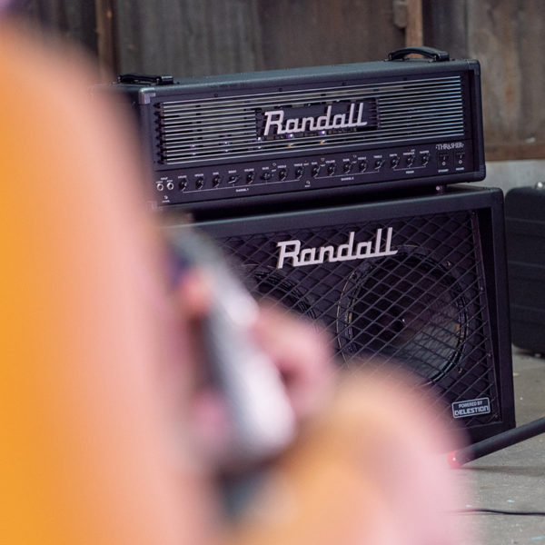 Randall cabinet and Thrasher Tube Amplifier