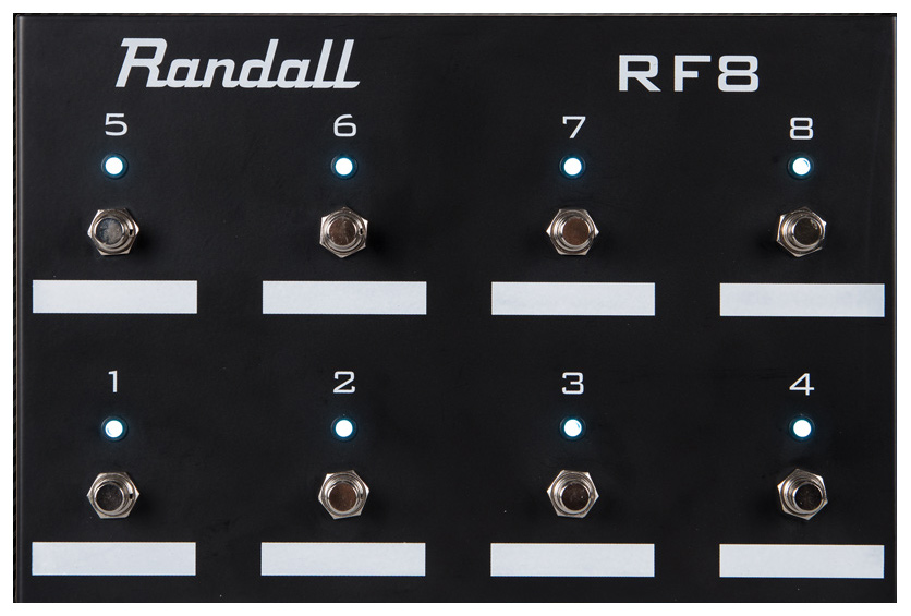 Randall RF8 foot switch