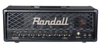 black Randall amplifier head